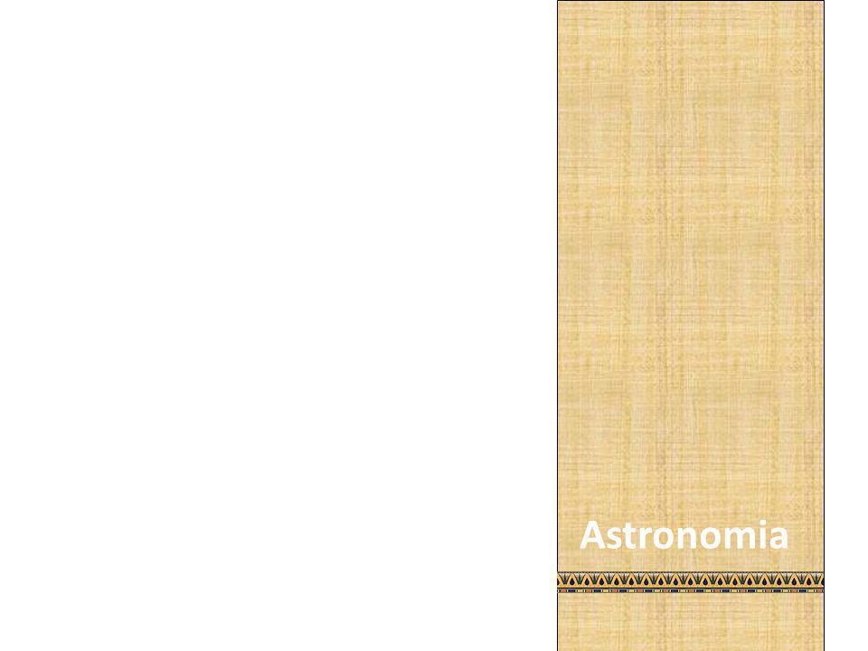 As estrelas sempre orientaram os egípcios, na navegação, e na agricultura. Elaboraram mapas dos céus, distinguindo estrelas de planetas, juntando-as em constelações. Desenvolveram ainda o calendário solar de 365 dias divididos em 12 meses de 30 dias, mais 5 dias festivos.