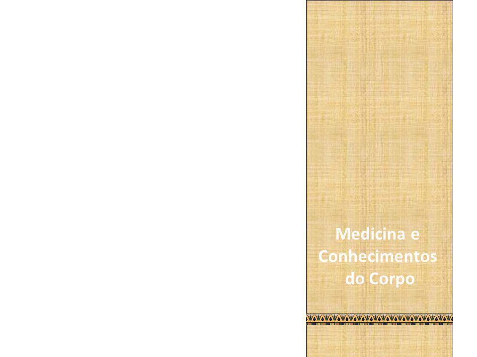 Medicina e Conhecimentos do Corpo