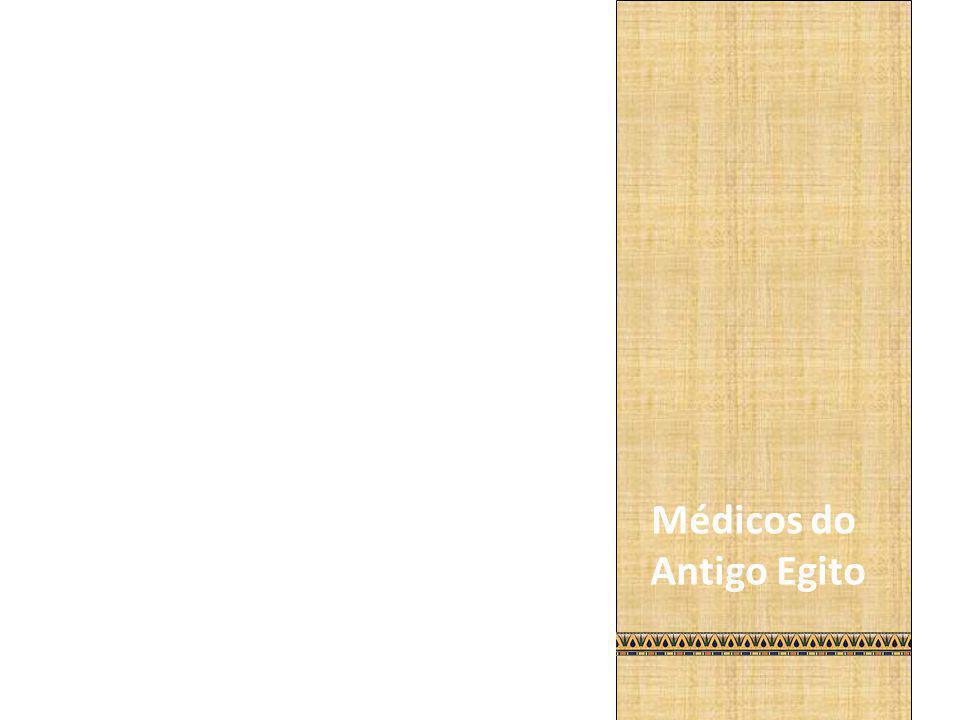 Médicos do Antigo Egito