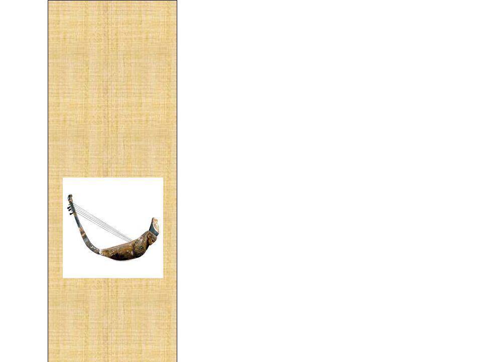 No Antigo Egito os instrumentos musicais estavam divididos em quatro grupos: