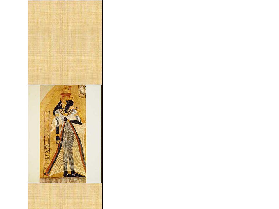 Bastante vaidosas que eram, as mulheres egípcias dispunham de vários apetrechos para cuidarem de sua higiene e beleza.
