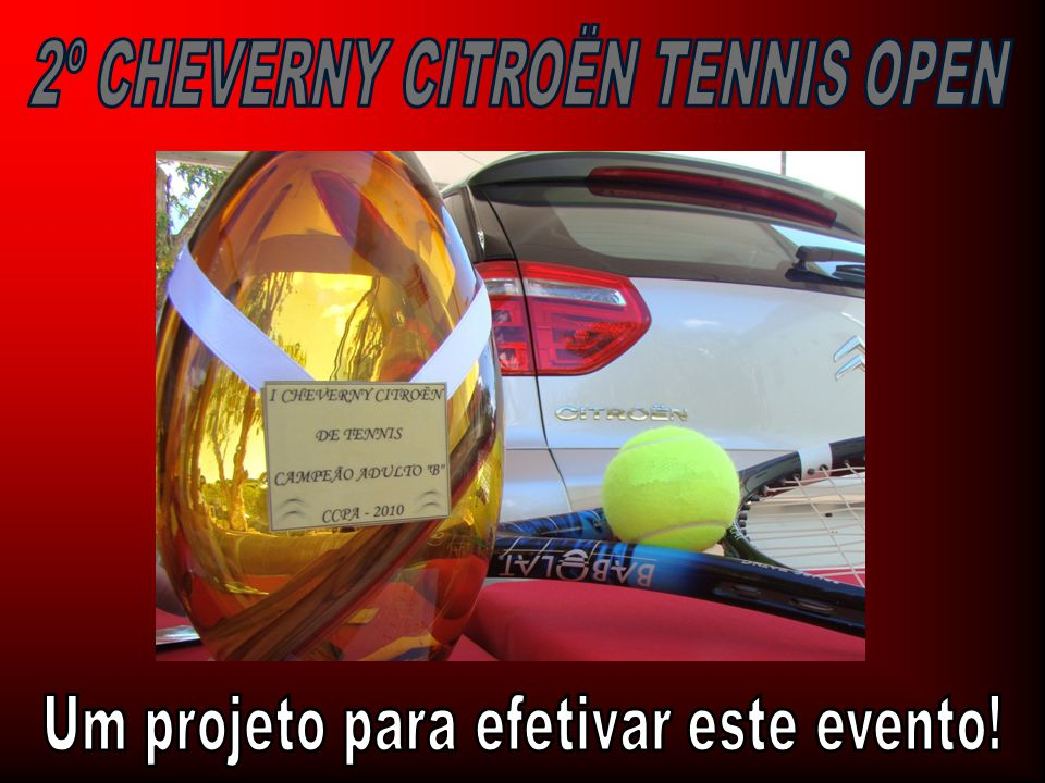 2º CHEVERNY CITROËN TENNIS OPEN