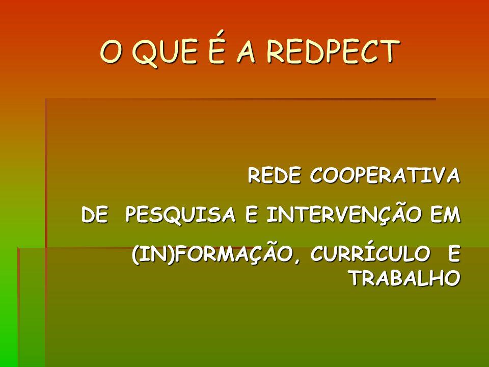 O QUE É A REDPECT REDE COOPERATIVA DE PESQUISA E INTERVENÇÃO EM