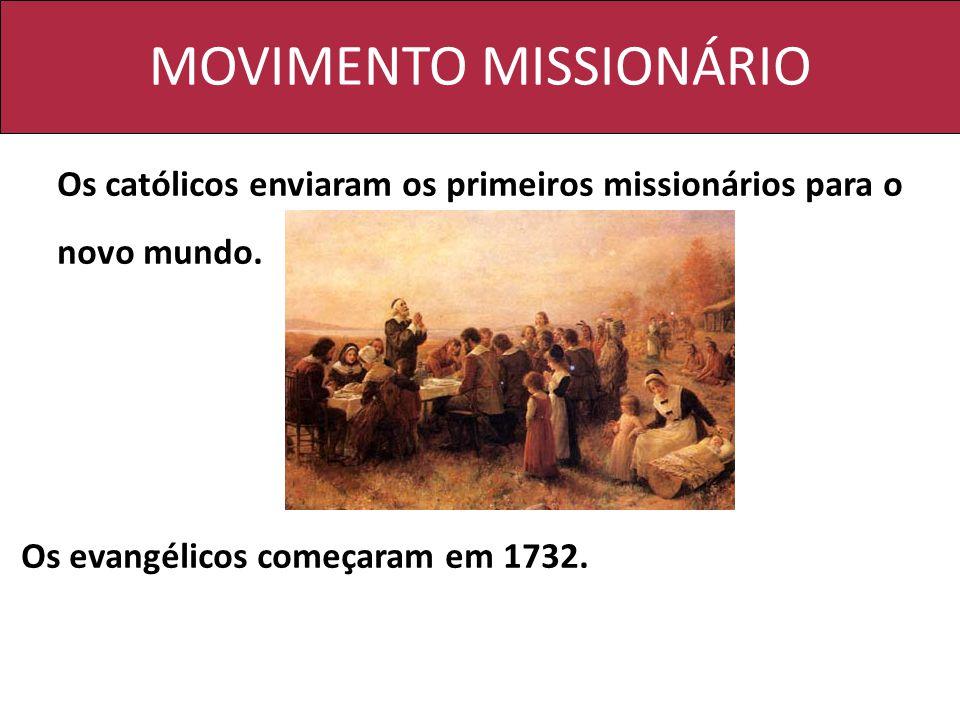 MOVIMENTO MISSIONÁRIO