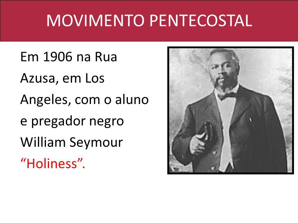 MOVIMENTO PENTECOSTAL