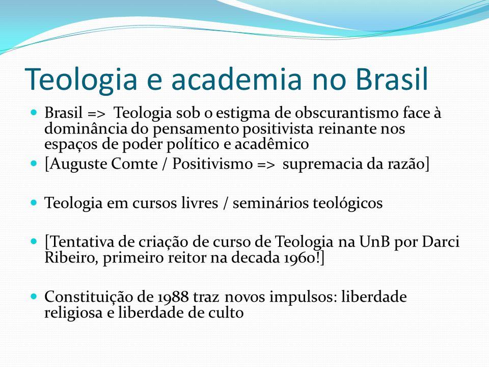 Teologia e academia no Brasil