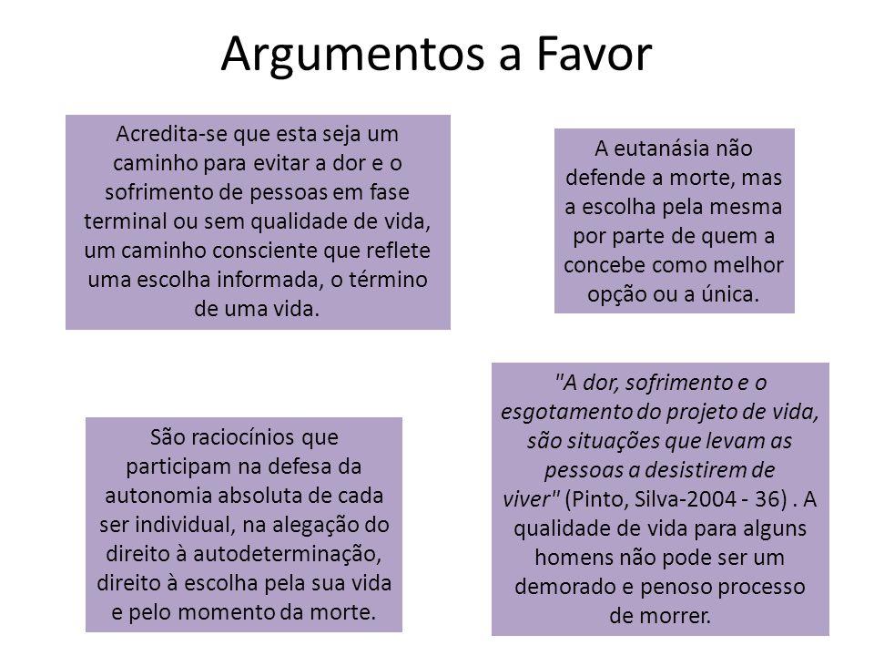 Argumentos a Favor
