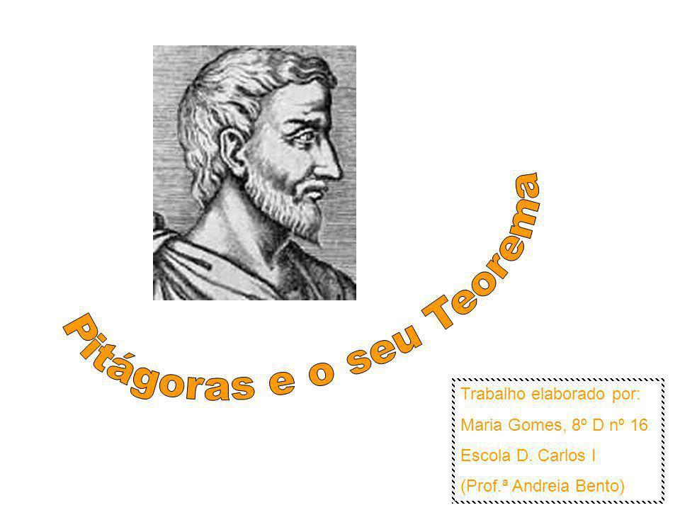 Pitágoras e o seu Teorema
