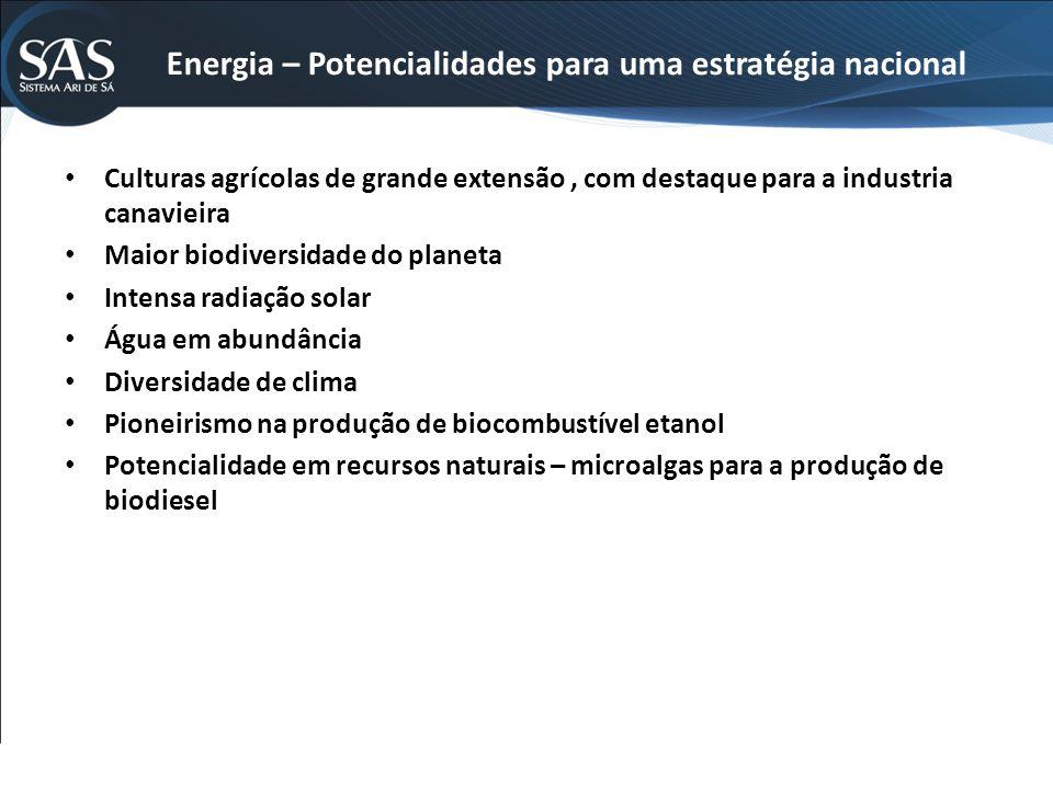 Energia – Potencialidades para uma estratégia nacional