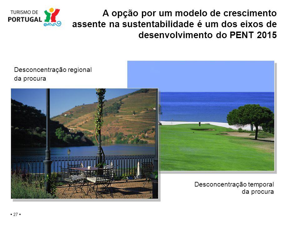 A opção por um modelo de crescimento assente na sustentabilidade é um dos eixos de desenvolvimento do PENT 2015