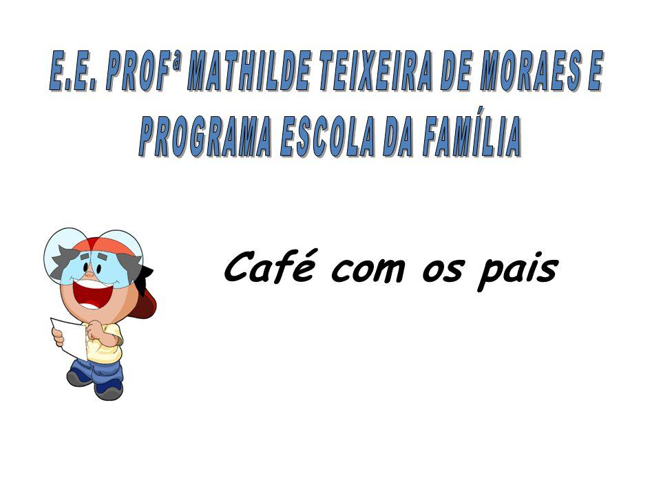 Café com os pais E.E. PROFª MATHILDE TEIXEIRA DE MORAES E