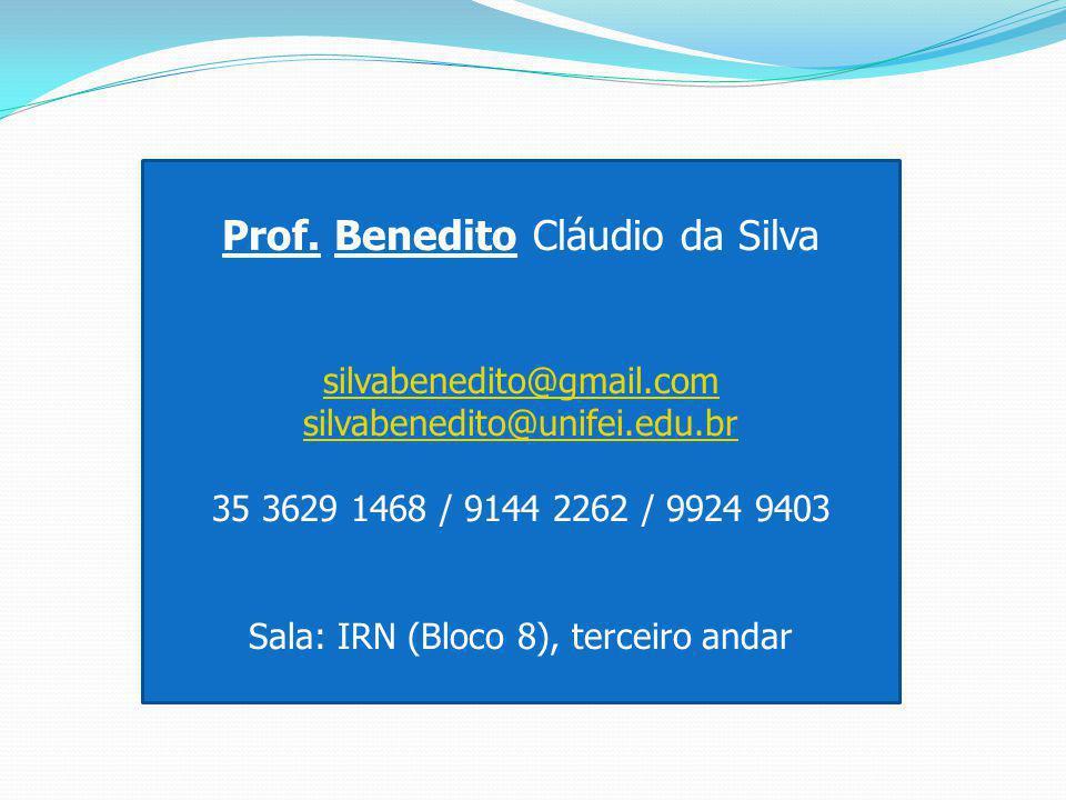 Prof. Benedito Cláudio da Silva