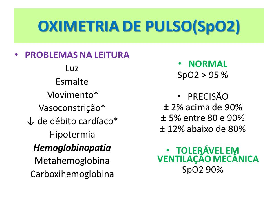 OXIMETRIA DE PULSO(SpO2)