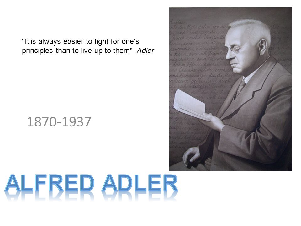 It is always easier to fight for one s principles than to live up to them Adler