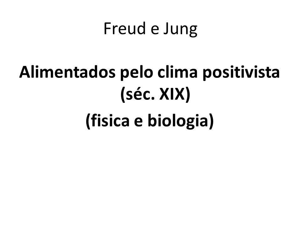 Alimentados pelo clima positivista (séc. XIX) (fisica e biologia)