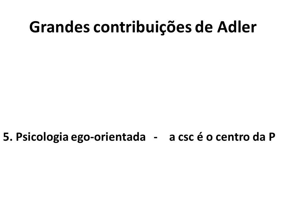 Grandes contribuições de Adler