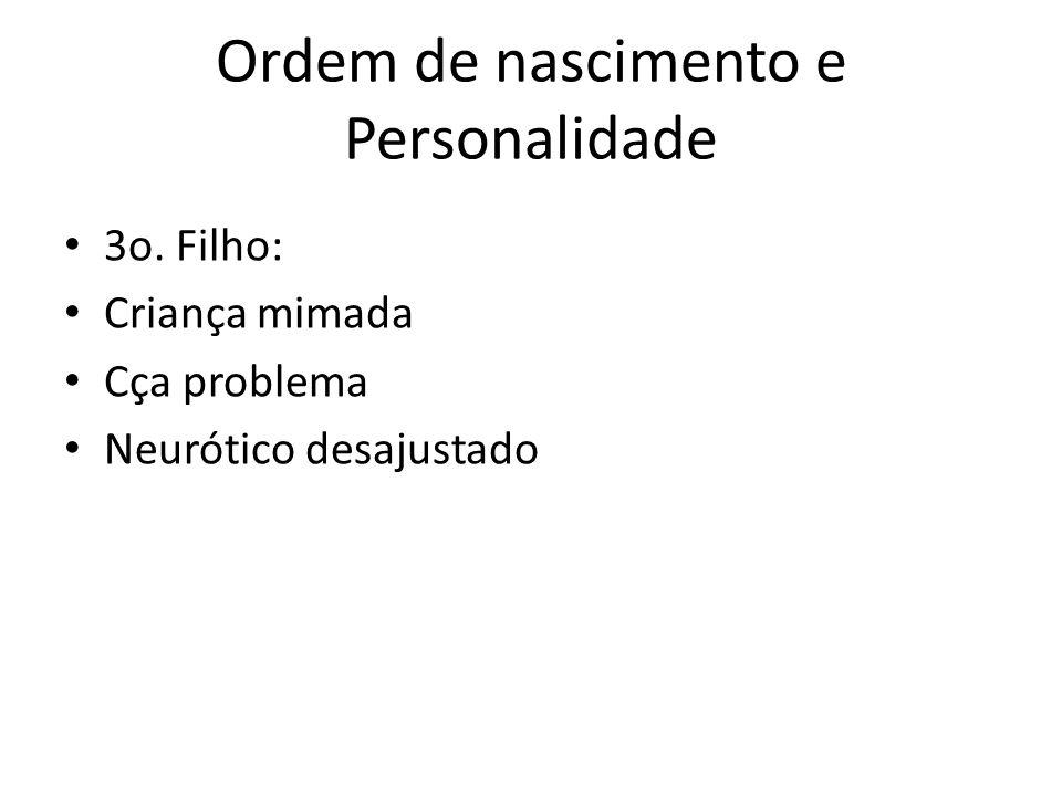 Ordem de nascimento e Personalidade