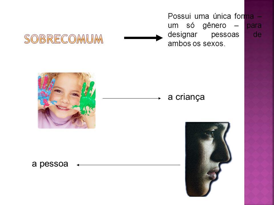 SOBRECOMUM a criança a pessoa