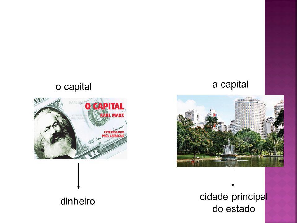 cidade principal do estado