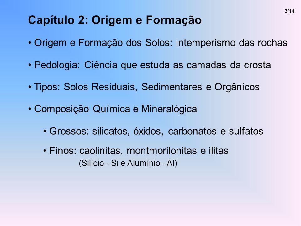 Capítulo 2: Origem e Formação