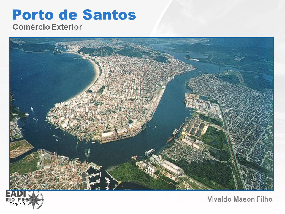 Porto de Santos Comércio Exterior Page  9