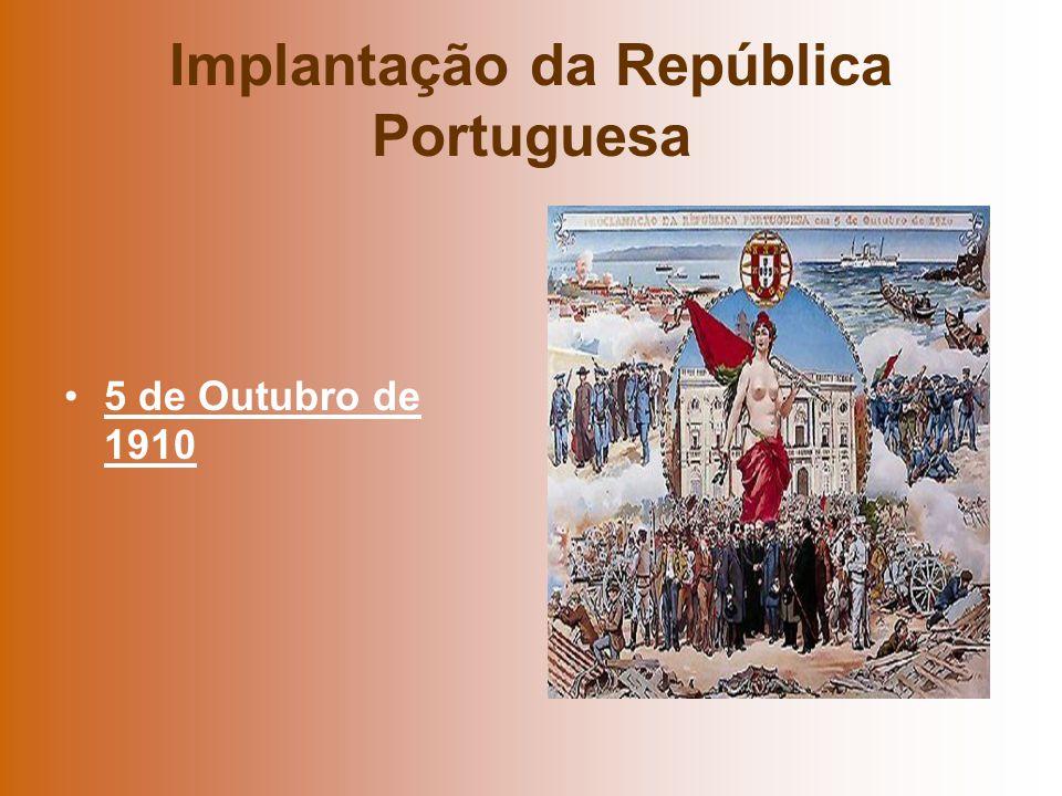 Implantação da República Portuguesa