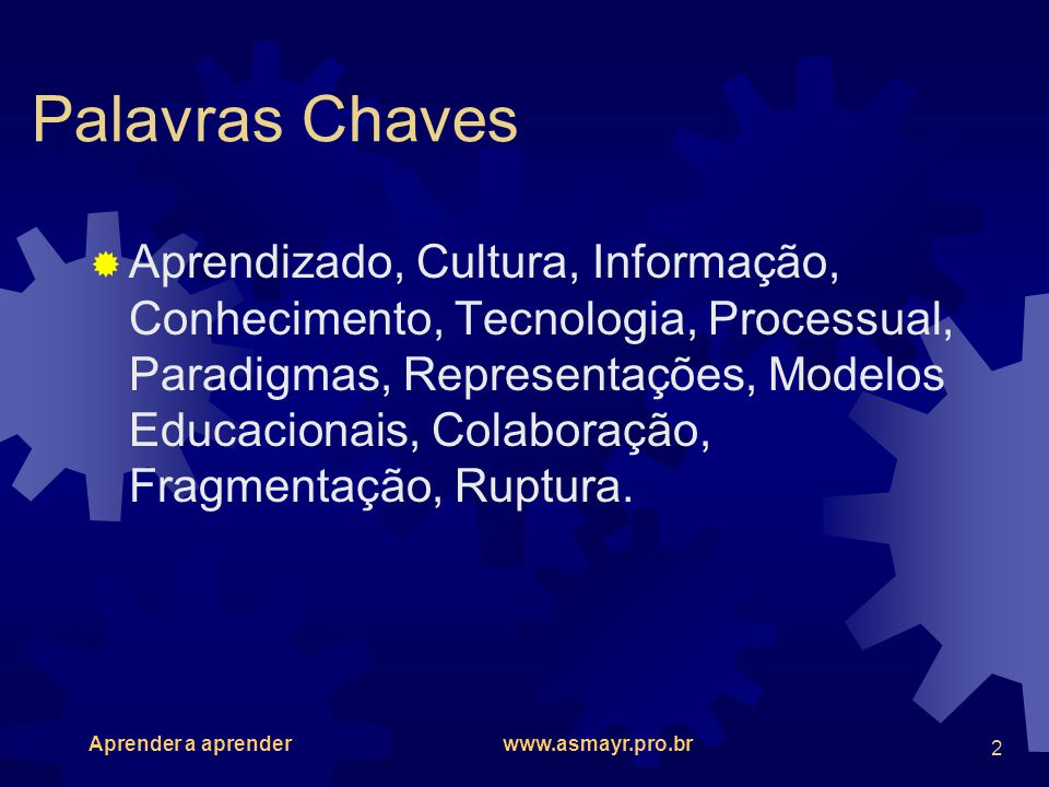 Palavras Chaves