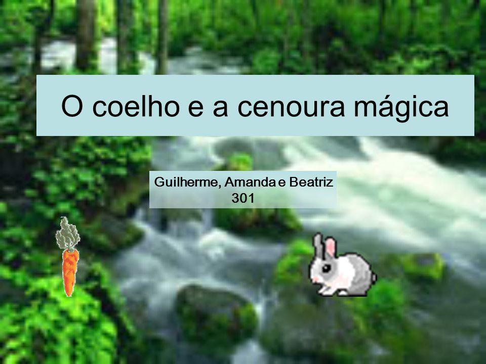 O coelho e a cenoura mágica