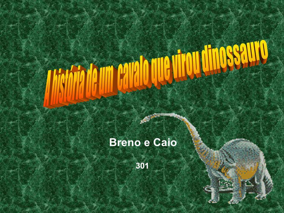 A história de um cavalo que virou dinossauro