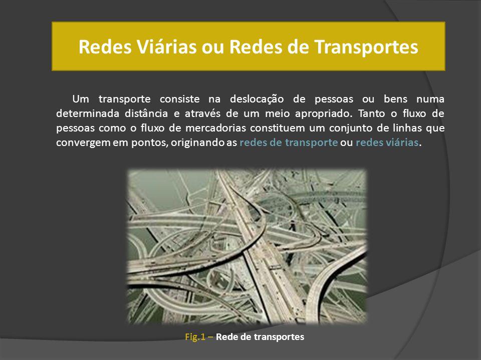 Redes Viárias ou Redes de Transportes
