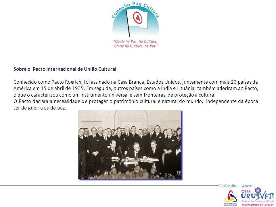 Sobre o Pacto Internacional de União Cultural