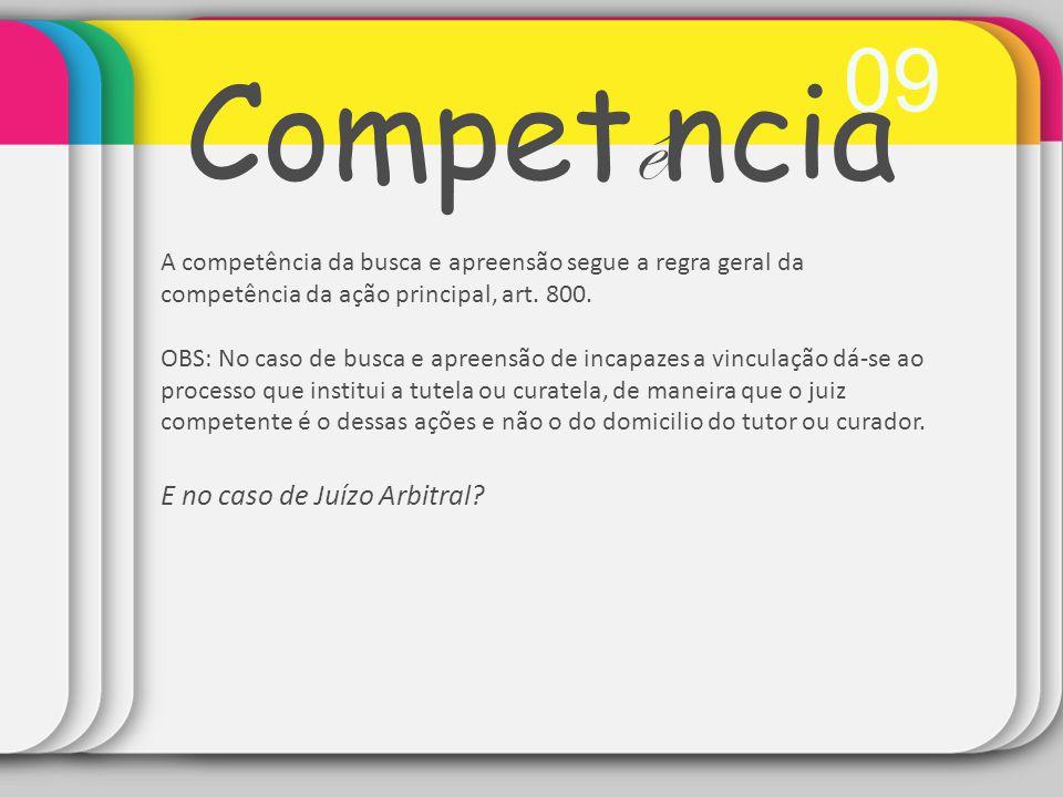 Competência 09 E no caso de Juízo Arbitral