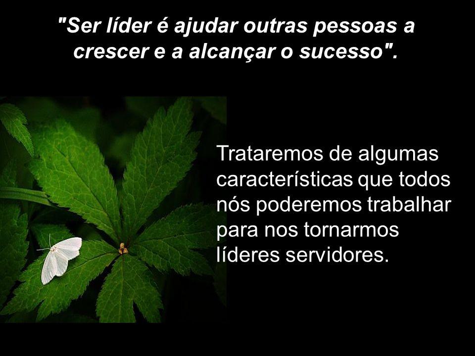 Ser líder é ajudar outras pessoas a crescer e a alcançar o sucesso .