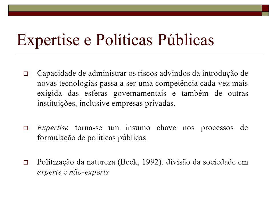 Expertise e Políticas Públicas