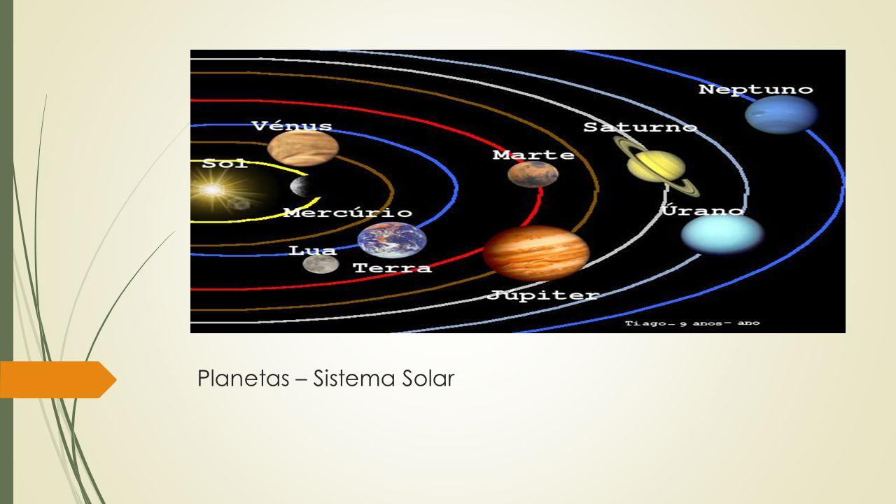 Planetas – Sistema Solar