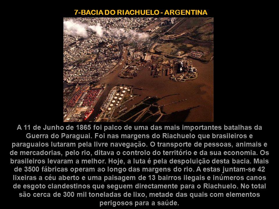 7-BACIA DO RIACHUELO - ARGENTINA