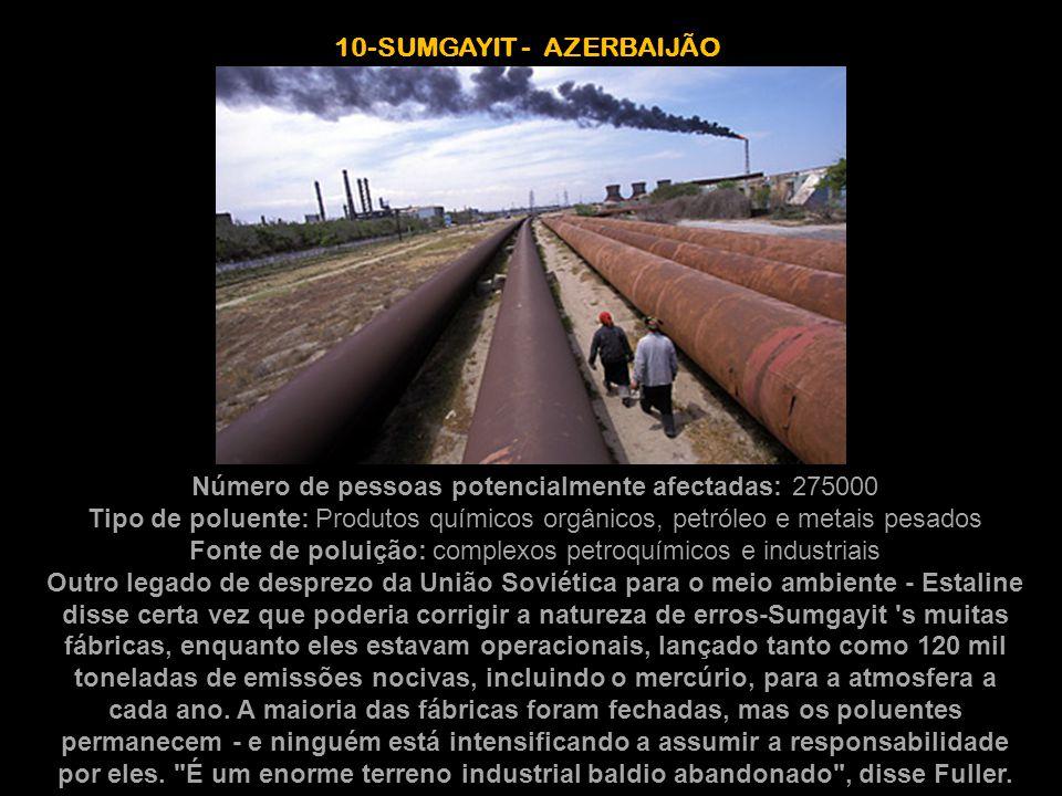 10-SUMGAYIT - AZERBAIJÃO