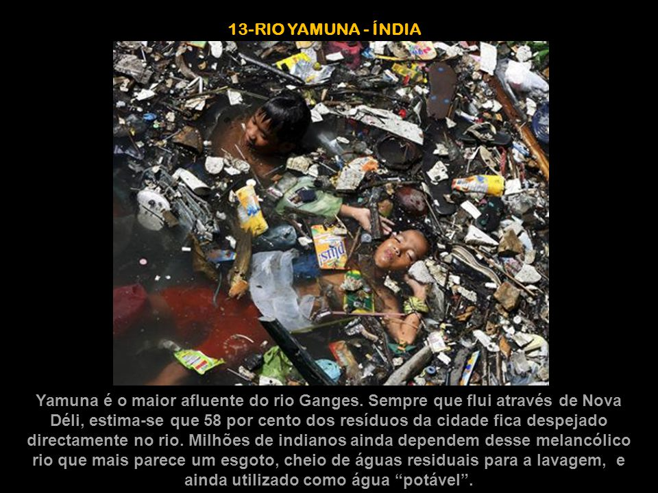 13-RIO YAMUNA - ÍNDIA