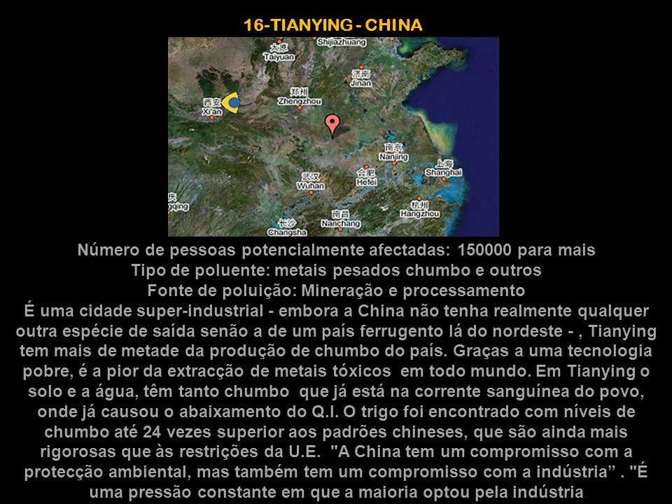 16-TIANYING - CHINA