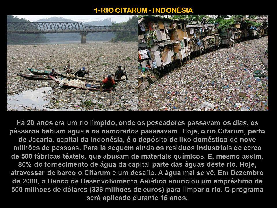 1-RIO CITARUM - INDONÉSIA