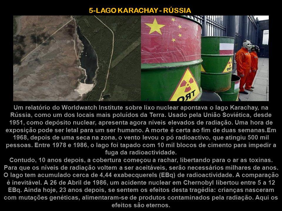 5-LAGO KARACHAY - RÚSSIA