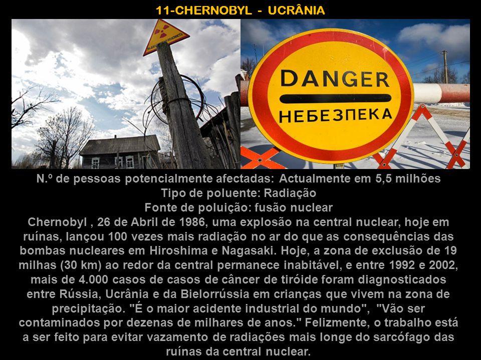 11-CHERNOBYL - UCRÂNIA