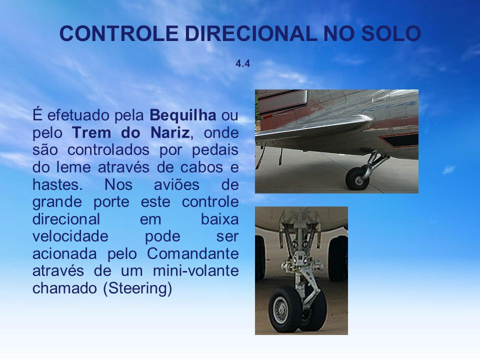 CONTROLE DIRECIONAL NO SOLO 4.4