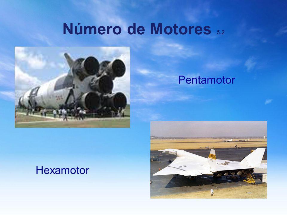 Número de Motores 5.2 Pentamotor Hexamotor