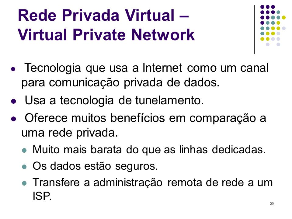 Rede Privada Virtual – Virtual Private Network