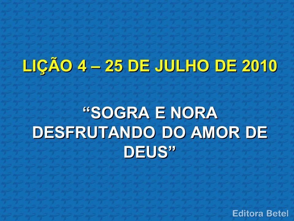 SOGRA E NORA DESFRUTANDO DO AMOR DE DEUS