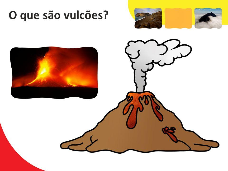 O que são vulcões O que são vulcões