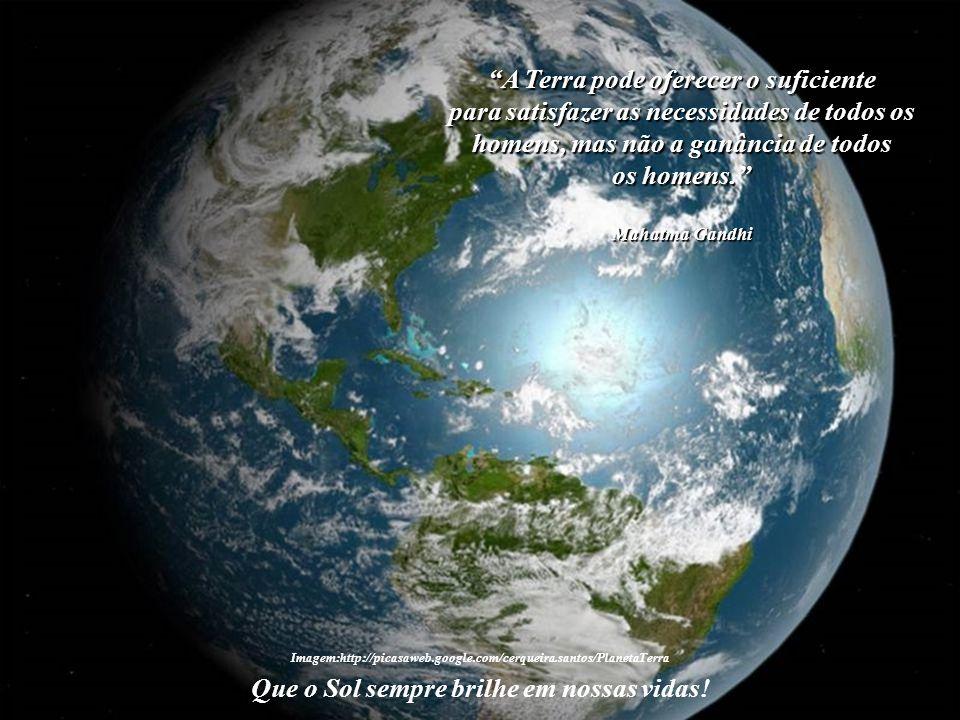 A Terra pode oferecer o suficiente