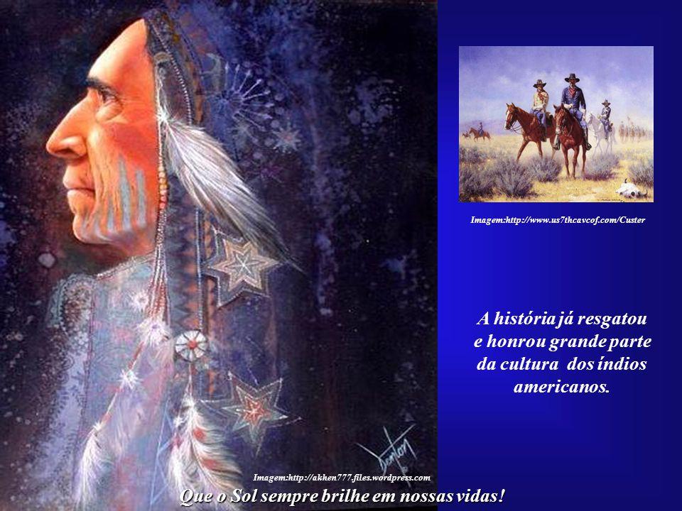 da cultura dos índios americanos.