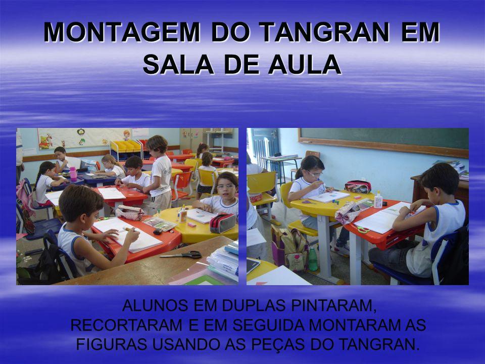 MONTAGEM DO TANGRAN EM SALA DE AULA